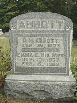 Emma E <i>Pressler</i> Abbott
