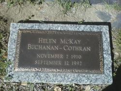 Helen Cecilia <i>Mckay</i> Cothran