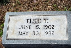 Elsie T Couch