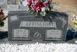 Grady W Arrington