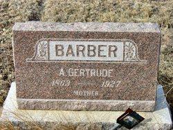 A Gertrude <i>Butler</i> Barber