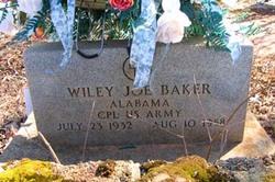 Wiley Joe Baker