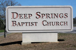 Deep Springs Baptist Church Cemetery