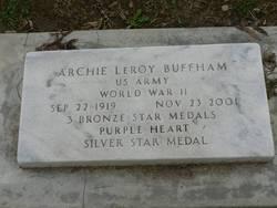 Archie Leroy Buffham