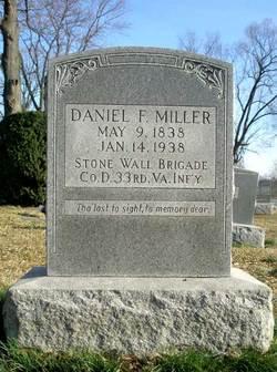 Pvt Daniel F. Miller
