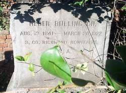 Pvt Heber Bullington