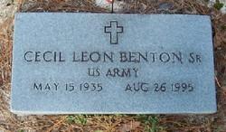 Cecil Leon Benton, Sr
