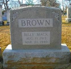 Billy Mack Brown