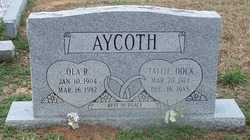Ola <i>Richardson</i> Aycoth
