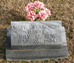 Mary <i>Swearengin</i> Hardy