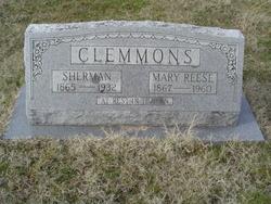 Mary <i>Reese</i> Clemmons