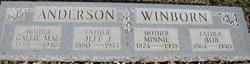Callie M. <i>Winborn</i> Anderson