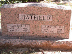Elizabeth Kingsley Bess <i>Roberts</i> Hatfield