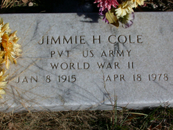 Jimmie Horace Cole