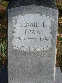 Jennie L Craig
