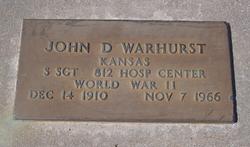 John D Warhurst