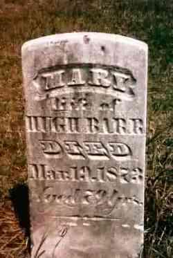 Mary <i>Laidley</i> Barr