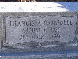 Francis A Campbell