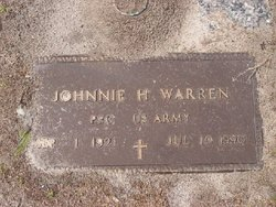 PFC Johnnie H. Warren