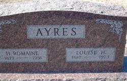Louise Henrietta <i>Hallman</i> Ayres