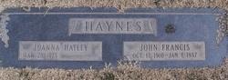 JoAnna <i>Hatley</i> Haynes