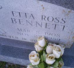 Etta <i>Ross</i> Bennett