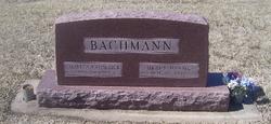 Grace <i>Daniel</i> Bachmann