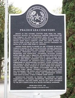 Prairie Lea Cemetery