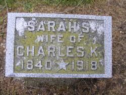 Sarah Melissa <i>Schoonover</i> Carter