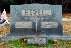 Allie Mae B. Hewell