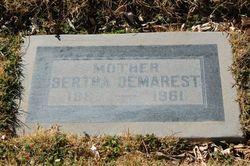 Bertha <i>Bogert</i> Demarest