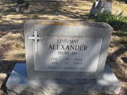 Luis May <i>Alexander</i> Duncan