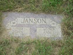 Annie Minnie <i>Larson</i> Janson