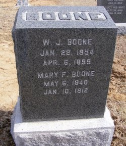 Mary Fannie <i>Moorehead</i> Boone