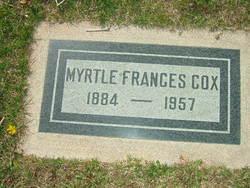 Myrtle Frances <i>Smith</i> Cox