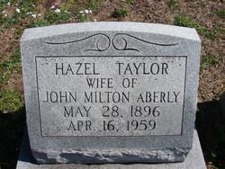 Hazel Taylor Aberly