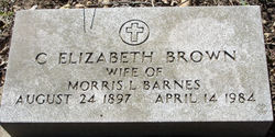 C. Elizabeth <i>Brown</i> Barnes