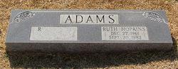 Ruth <i>Hopkins</i> Adams