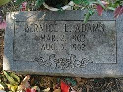Bernice L Adams