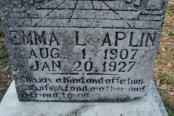 Emma L. Aplin