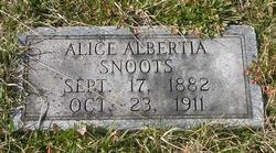 Alice Albertia <i>Danner</i> Snoots