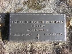 Harold Joseph Beadman