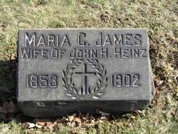 Maria Chessman <i>James</i> Heinz