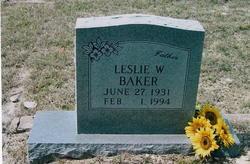 Leslie W. Baker