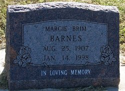 Margie <i>Brim</i> Barnes