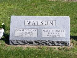 Donald Monk Watson