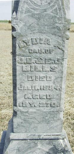 Lydia A. Bills