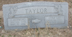 J. Raymond Taylor