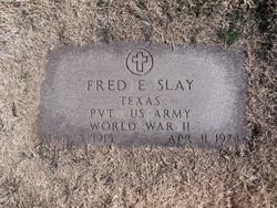 Pvt Fred Eugene Slay