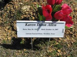 Karen Donn <i>Tubbs</i> Allen